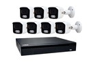 POE Plug And Play Kit 7 5MP camera + NVR