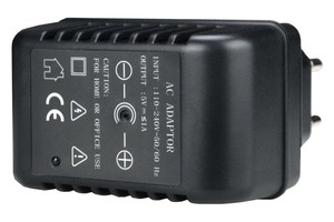 Power adapter camera with SD, WiFi